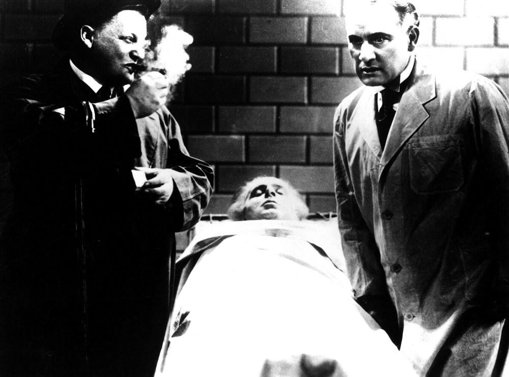 Oscar Beregi Sr., Rudolf Klein-Rogge, and Otto Wernicke in Das Testament des Dr. Mabuse (1933)