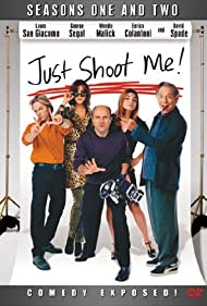 Laura San Giacomo, George Segal, Wendie Malick, David Spade, and Enrico Colantoni in Just Shoot Me! (1997)