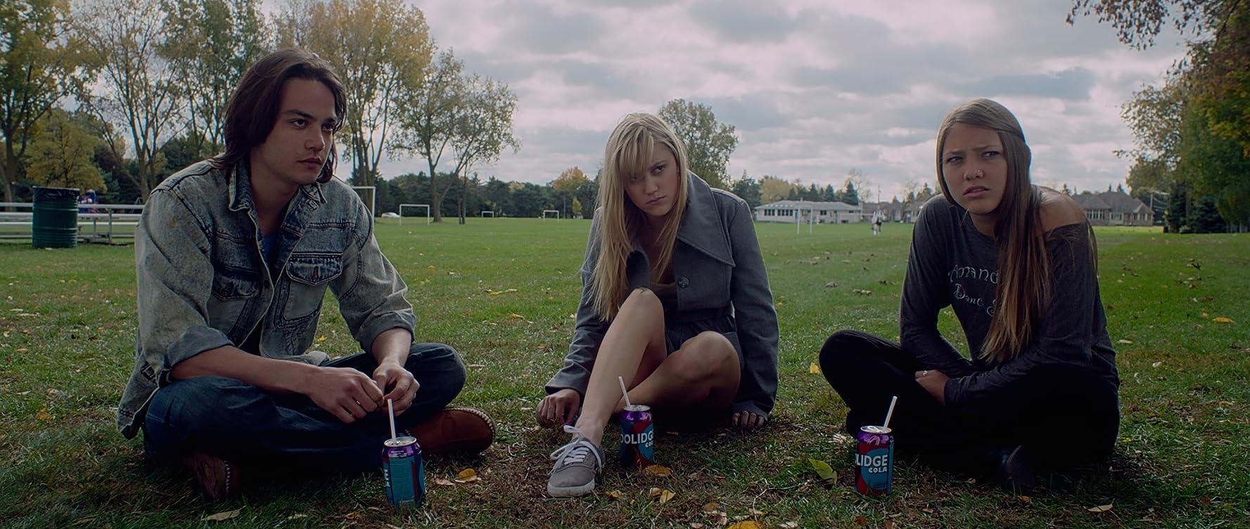 Maika Monroe, Lili Sepe, and Daniel Zovatto in It Follows (2014)