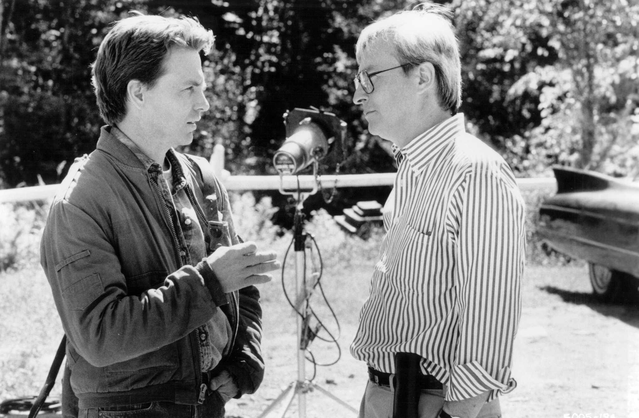 David Andrews and Ralph S. Singleton in Graveyard Shift (1990)