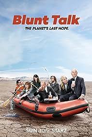 Patrick Stewart, Adrian Scarborough, Timm Sharp, Jacki Weaver, Dolly Wells, Karan Soni, and Mary Holland in Blunt Talk (2015)