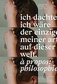 à propos: philosophie Poster