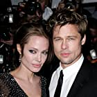 Brad Pitt and Angelina Jolie at an event for The Good Shepherd (2006)