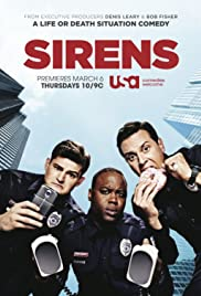 Sirens Poster - TV Show Forum, Cast, Reviews