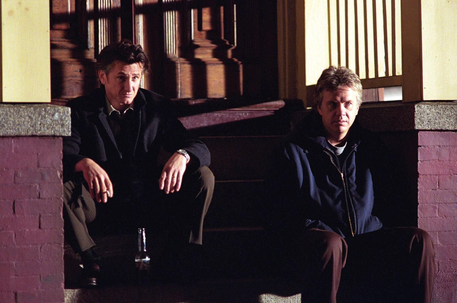 Tim Robbins and Sean Penn in Mystic River (2003)