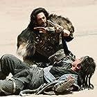 Jackie Chan and Adrien Brody in Tian jiang xiong shi (2015)