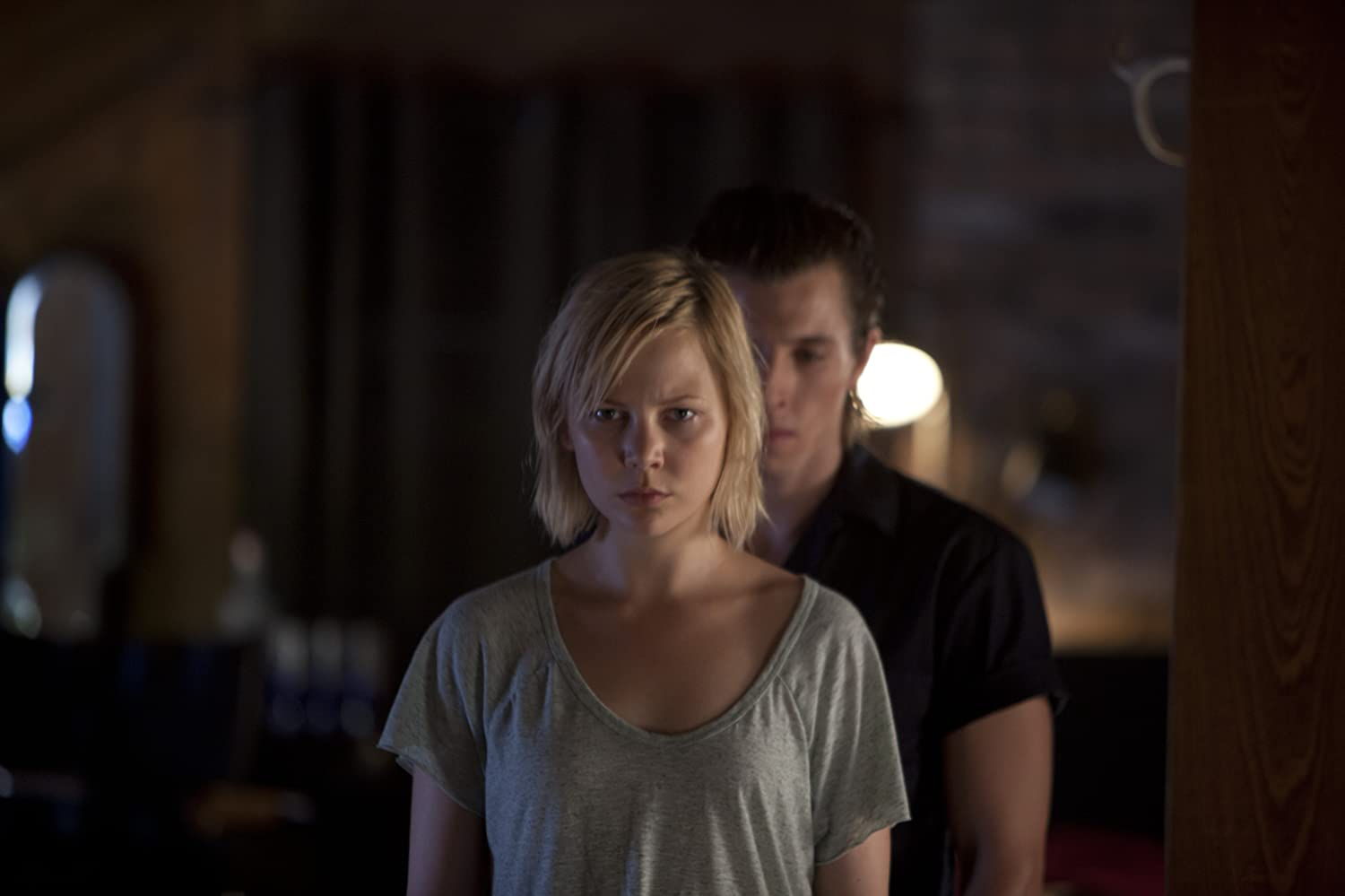 Adelaide Clemens and Beau Knapp in No One Lives (2012)