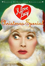 the i love lucy christmas show poster - I Love Lucy Christmas Special