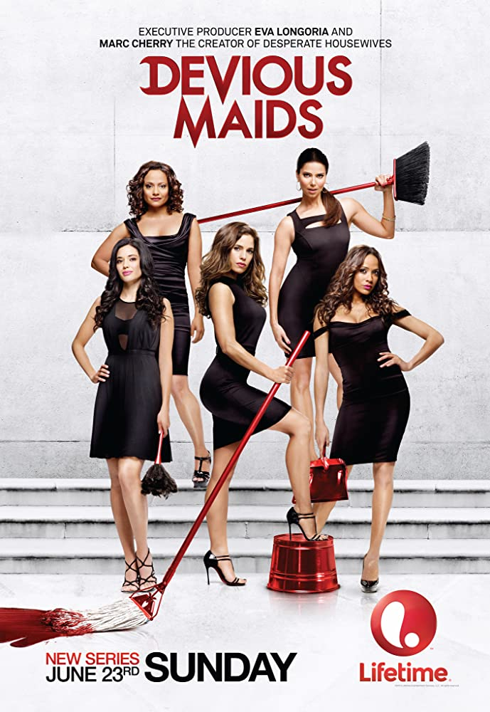 Ana Ortiz, Judy Reyes, Roselyn Sanchez, Dania Ramirez, and Edy Ganem in Devious Maids (2013)