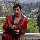 Mario Diaz as 'Johnny Eyelash' pondering his next move against the T.O.B.