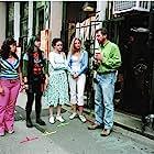 Alexis Bledel, Ken Kwapis, Blake Lively, Amber Tamblyn, and America Ferrera in The Sisterhood of the Traveling Pants (2005)