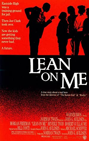 Lean on Me Poster Image