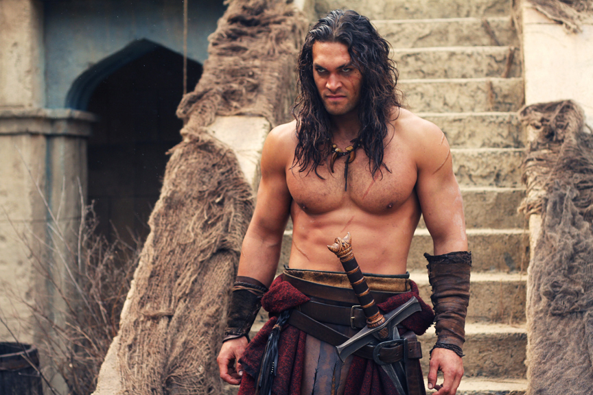 Jason Momoa in Conan the Barbarian (2011)