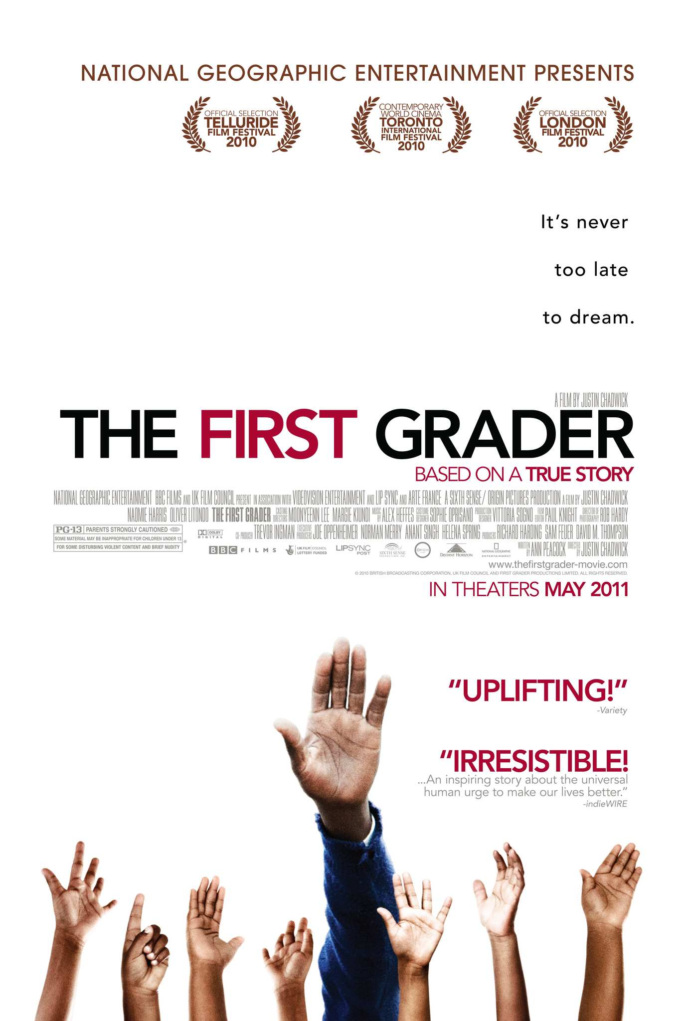 PIRMOKAS (2010) / THE FIRST GRADER