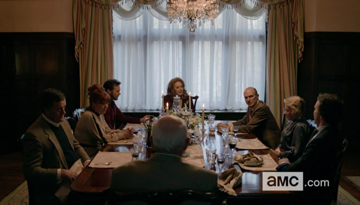 Wayne Hughes with Jean Smart, Toby Huss and Lee Pace. Halt and Catch Fire -- AMC