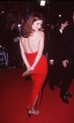 Jill Hennessy at an event for The Replacement Killers (1998)
