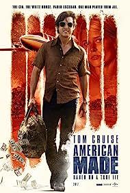 Tom Cruise, Sarah Wright, and Alejandro Edda in American Made (2017)