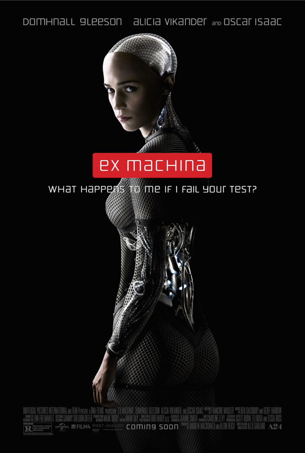 Image result for ex machina movie poster imdb""