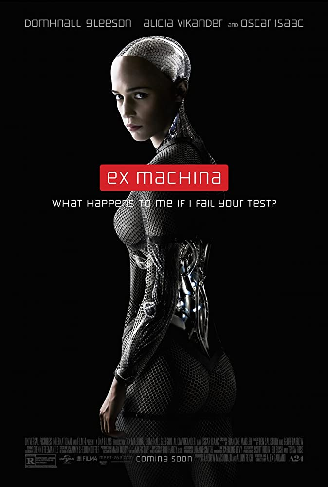 Alicia Vikander in Ex Machina (2014)