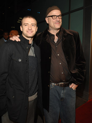 Nick Cassavetes and Justin Timberlake at an event for Alpha Dog (2006)