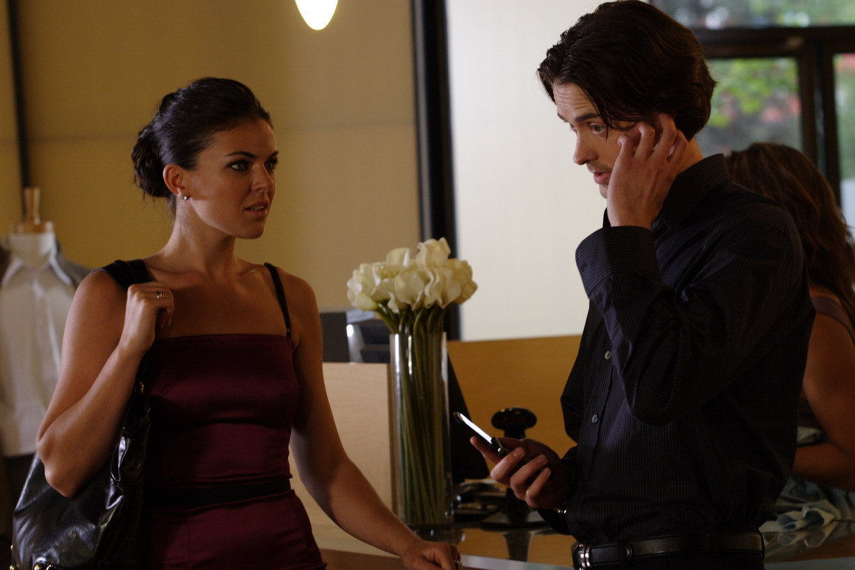 Ryan Kennedy and Serinda Swan in The Break-Up Artist (2009)
