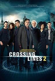 Donald Sutherland, William Fichtner, Marc Lavoine, Gabriella Pession, Tom Wlaschiha, Richard Flood, and Lara Rossi in Crossing Lines (2013)
