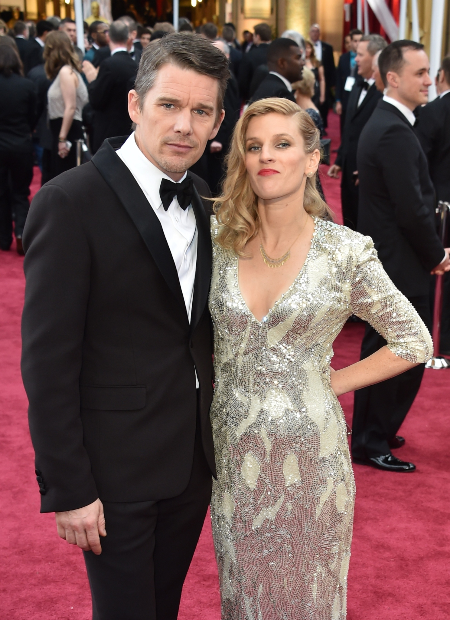 Ethan Hawke and Ryan Hawke at an event for The Oscars (2015)