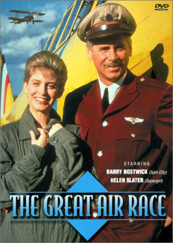 Helen Slater and Barry Bostwick in The Great Air Race (1991)