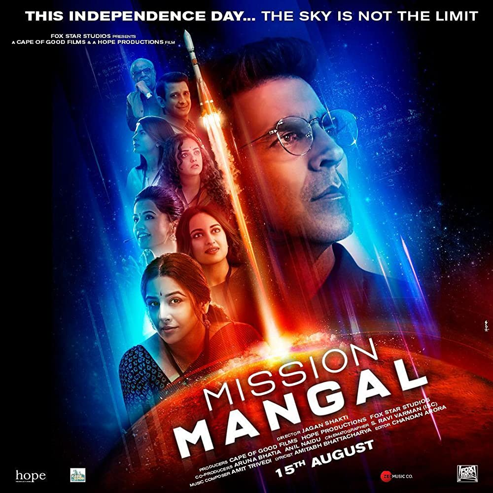 Mission Mangal 2019 Hindi Movie 350MB pDVDRip Download *New Print*