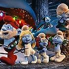 Jack Angel, Fred Armisen, Gary Basaraba, Anton Yelchin, and Melissa Sturm in The Smurfs: A Christmas Carol (2011)