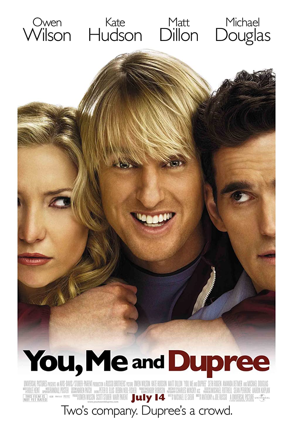 You, Me and Dupree 2006 Dual Audio Hindi 410MB BluRay ESub Download