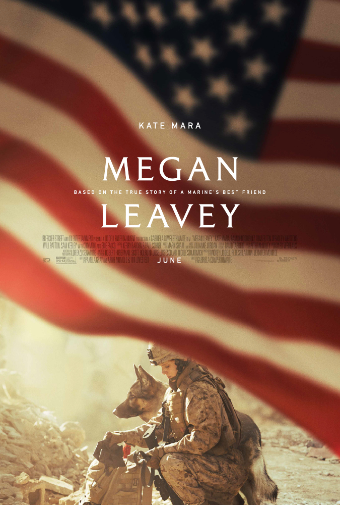 Kate Mara in Megan Leavey (2017)
