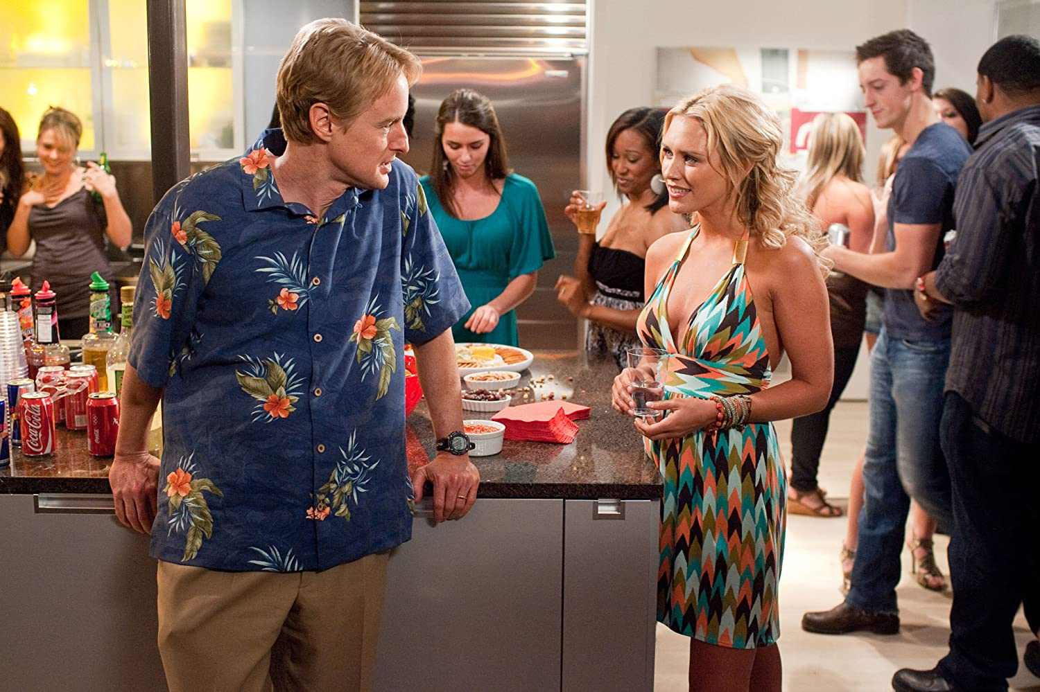 Owen Wilson and Nicky Whelan in Hall Pass (2011)