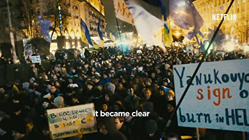 Official trailer for Winter on Fire: Ukraine's Fight for Freedom premiering on  Netflix on October 9.