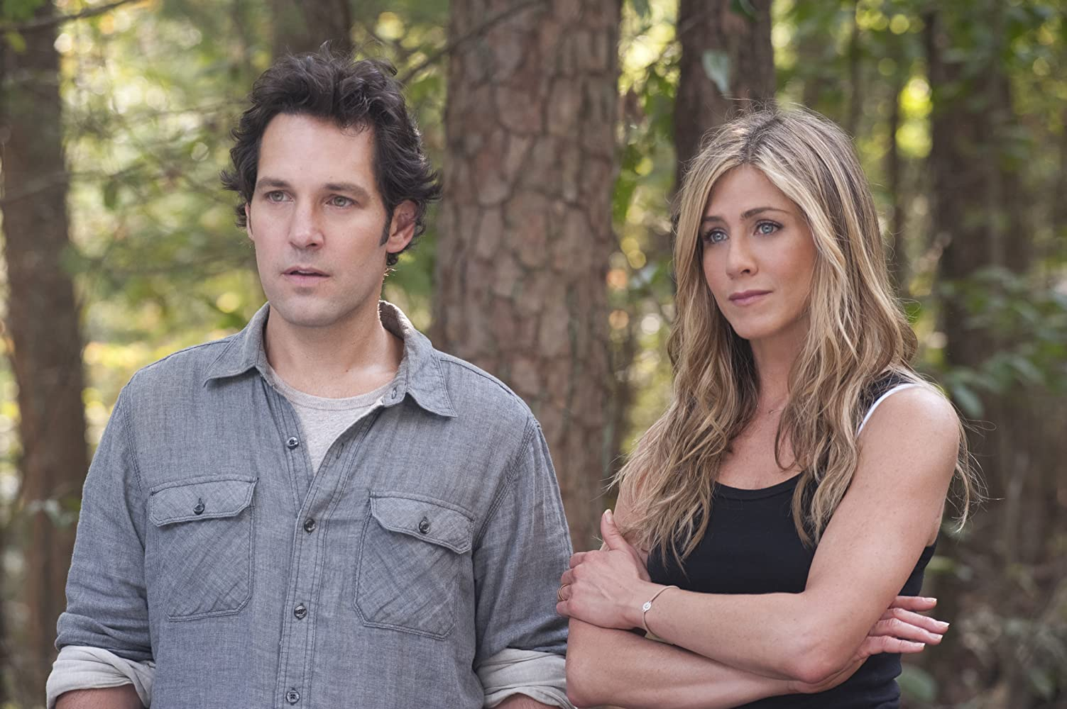 Jennifer Aniston and Paul Rudd in Wanderlust (2012)