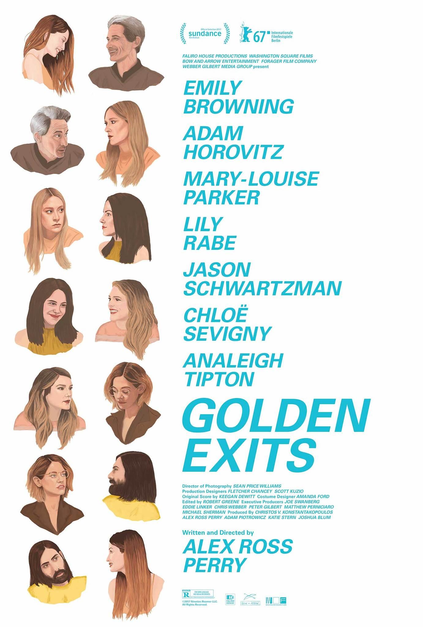 Golden Exits (2017) WEBRip 720p