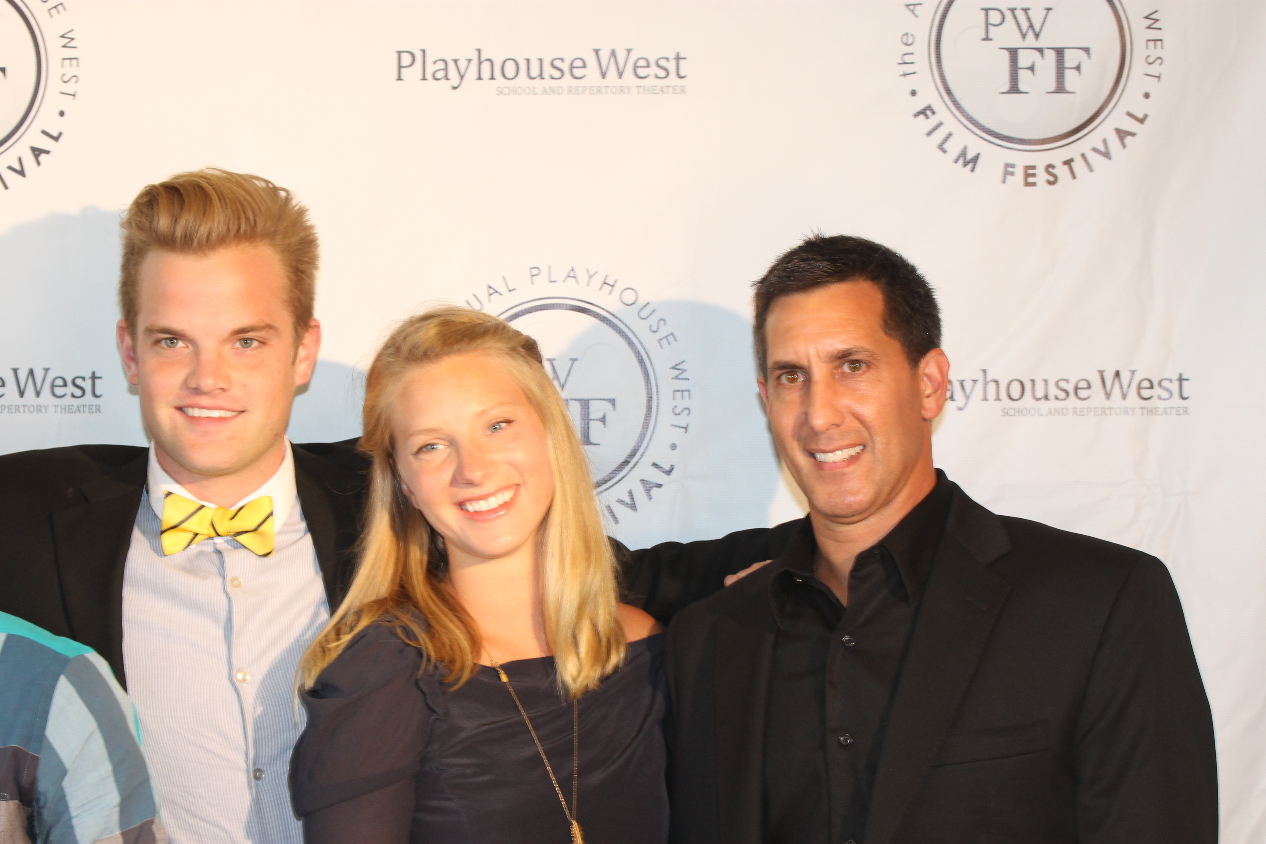 Tony Savant and Heather Morris at the Playhouse West Film Festival