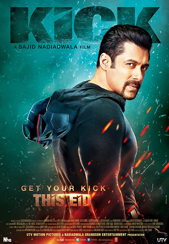 Kick 2014 Hindi Movie 463MB BluRay Download