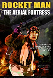 Rocket Man and the Aerial Fortress Poster