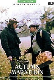 Autumn Marathon Poster