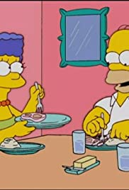 The simpsons bartering over online dating