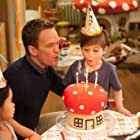 Neil Patrick Harris and Jacob Tremblay in The Smurfs 2 (2013)