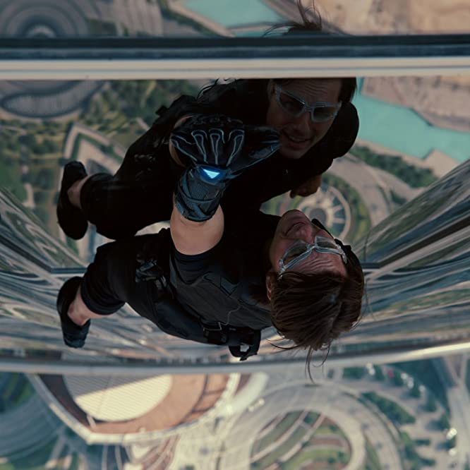 Tom Cruise in Mission: Impossible - Protocollo fantasma (2011)
