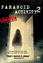 Paranoid Activity 2 Poster