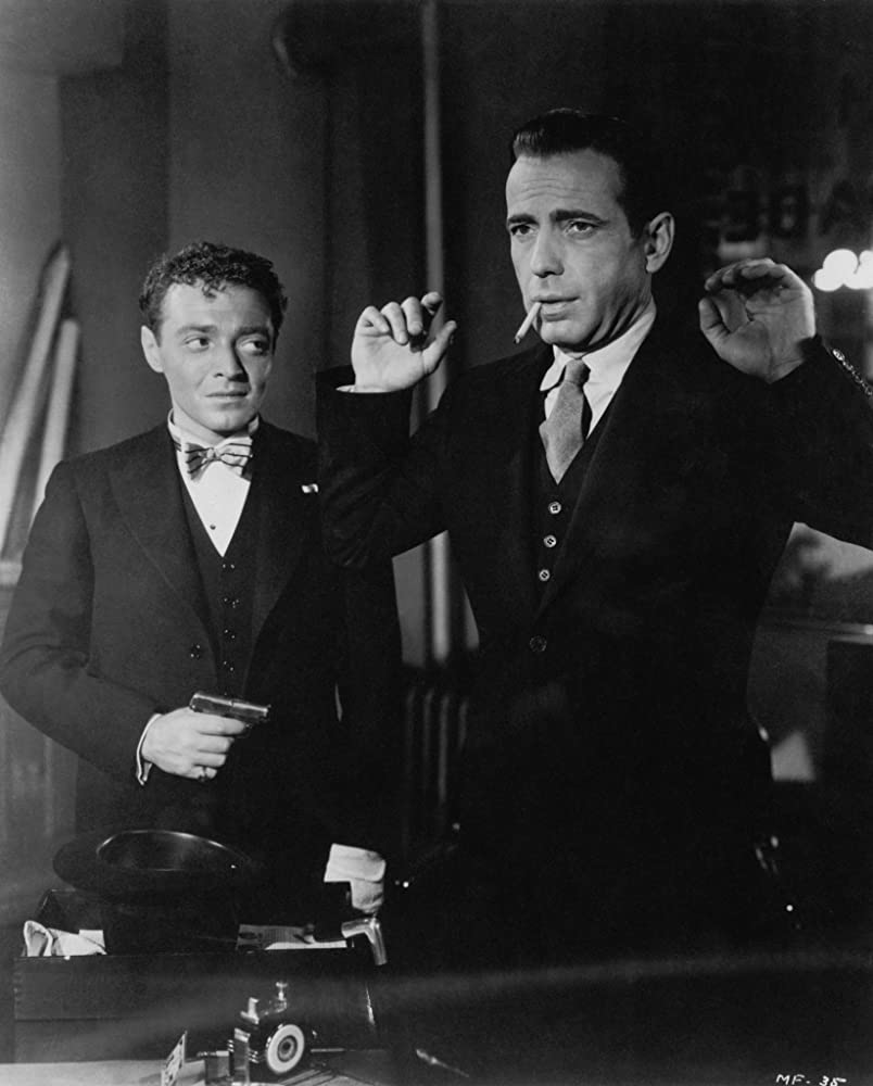 Humphrey Bogart and Peter Lorre in The Maltese Falcon (1941)