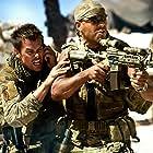 Josh Duhamel and Amaury Nolasco in Transformers (2007)