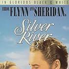 Errol Flynn and Ann Sheridan in Silver River (1948)