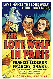 The Lone Wolf in Paris Poster
