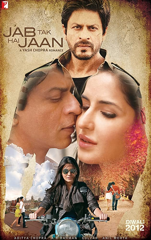Jab Tak Hai Jaan 2012 Hindi 555MB BluRay Download