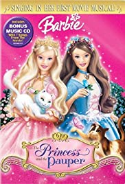 barbie as the princess and the pauper poster